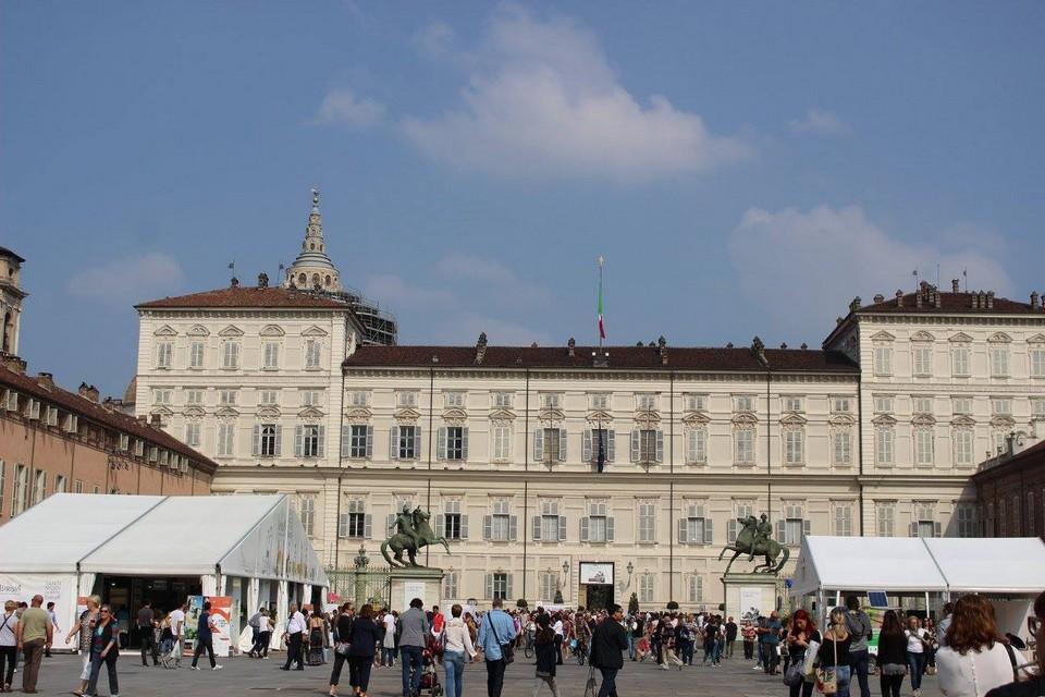 Palazzo Reale di Torino - Sede dell'Enoteca del Salone del Gusto