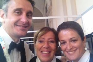 Giangiacomo, Maria Pia e Ilaria